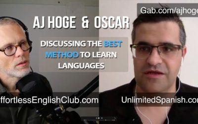 Especial. Entrevistado por AJ Hoge de Effortless English